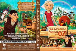 Fantastic Journey to Oz - Salvando al Reino de Oz - Cover DV